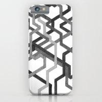 Black and White Metro iPhone 6 Slim Case