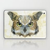 Laptop & iPad Skin featuring Abstract Owl by Ancello