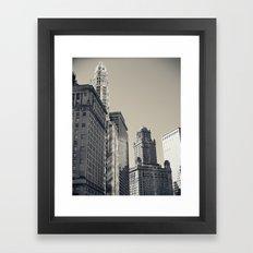 Chicago IV Framed Art Print
