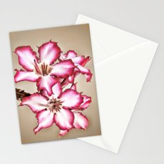 Exotic Flower Stationery Cards