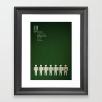 Alien - 8th passenger Framed Art Print