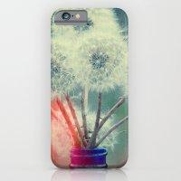 Dandelion Bouquet Lomo SQ Too Whimsical Boho Botanical Nature  iPhone 6 Slim Case