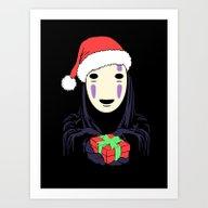 Kaonashi's Trap! Art Print