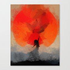 umbrellaliensunshine: atomicherry spring! Canvas Print