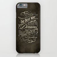 iPhone & iPod Case featuring The Best Way - Typography by tomekbiernat