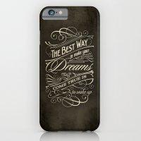 The Best Way - Typograph… iPhone 6 Slim Case