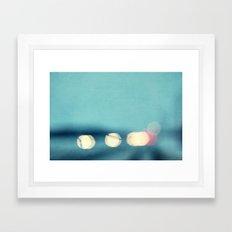 winter nights II Framed Art Print