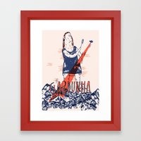 Gardunha Fest Poster Framed Art Print