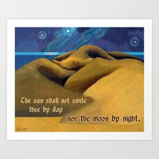 Nor The Moon By Night Art Print