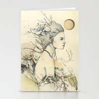 Nostalgia Series 1/2 Stationery Cards