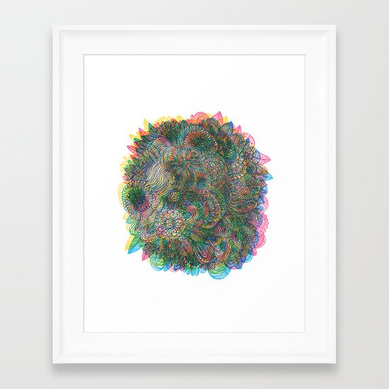 Hallucinations Framed Art Print