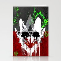 Arkham City Joker!  Stationery Cards