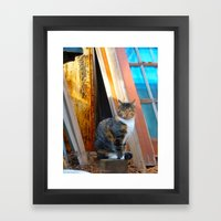 Chessie Framed Art Print
