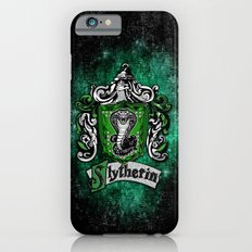 Slytherin team flag iPhone 4 4s 5 5c, ipod, ipad, pillow case, tshirt and mugs iPhone 6 Slim Case
