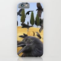 Crows in Tuscany iPhone 6 Slim Case