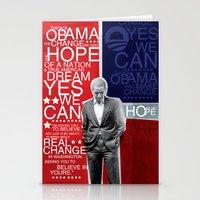 Barack Obama Stationery Cards