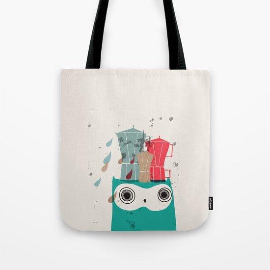 Owl Aloud Tote Bag
