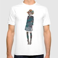 Kinabalu Mens Fitted Tee White SMALL