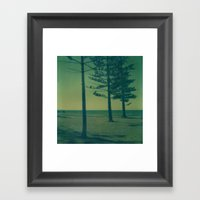 Port Macquarie Polaroid Framed Art Print