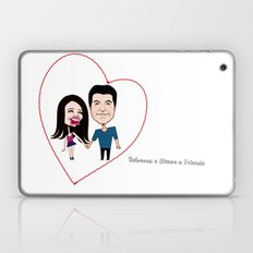 Rebecca Black and Simon Cowell are Friends Laptop & iPad Skin