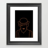 Mr. DeLarge Framed Art Print