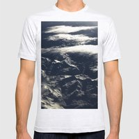 Topographics 2 Mens Fitted Tee Ash Grey SMALL