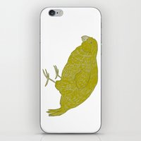 Kakapo Says Hello! iPhone & iPod Skin