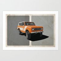International Scout - Ra… Art Print