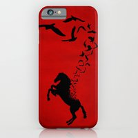 iPhone Cases featuring The ascension by Durro