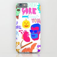 iPhone & iPod Case featuring Super Gore by Nick Cocozza