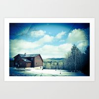 Ludlow VT Art Print