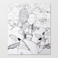 Birdwatcher Canvas Print