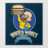 Heisenburgers Canvas Print