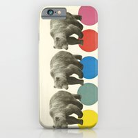 iPhone & iPod Case featuring Wandering Bears by Cassia Beck