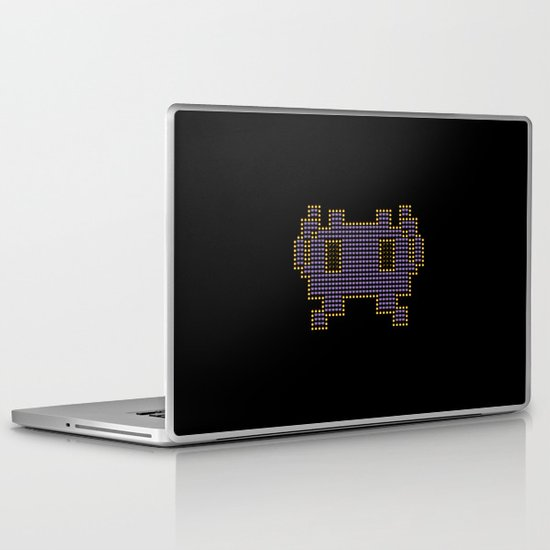 Space Invader Laptop & iPad Skin