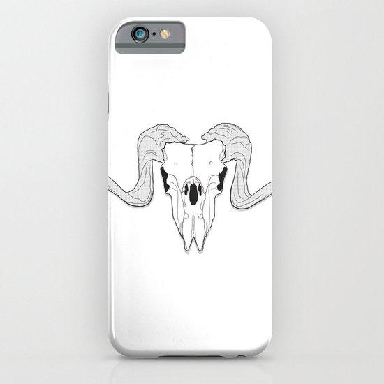 Ram Skull iPhone & iPod Case