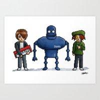 Pixel Stobie Art Print