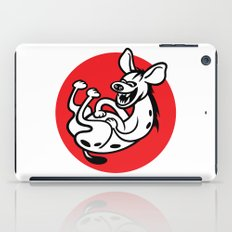 The Laughing Hyena iPad Case