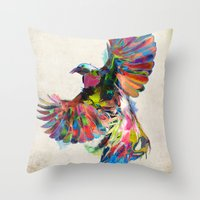 Unbound Throw Pillow