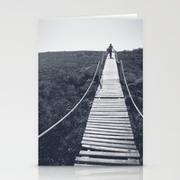 adventure Stationery Cards featuring Adventure by Light Wanderer