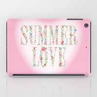 Summer Love iPad Case