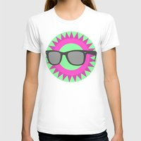 Mist  Womens Fitted Tee White SMALL