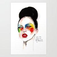 Applause Ga Ga Art Print