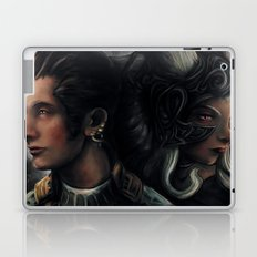Balthier and Fran Final Fantasy 12 Portraits Laptop & iPad Skin