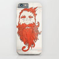 iPhone & iPod Case featuring Beardsworthy by Krist Norsworthy