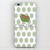Olive You So Much. iPhone & iPod Skin