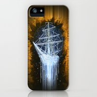 "iPhone Cases featuring ""Man-O-War II"" by Bryan Keith Lanier"