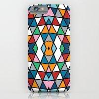 Geo Outline Colour iPhone 6 Slim Case
