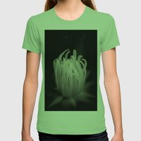 Centered Womens Fitted Tee Grass SMALL