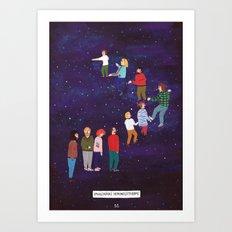 Imaginary Stairway to Heaven Art Print